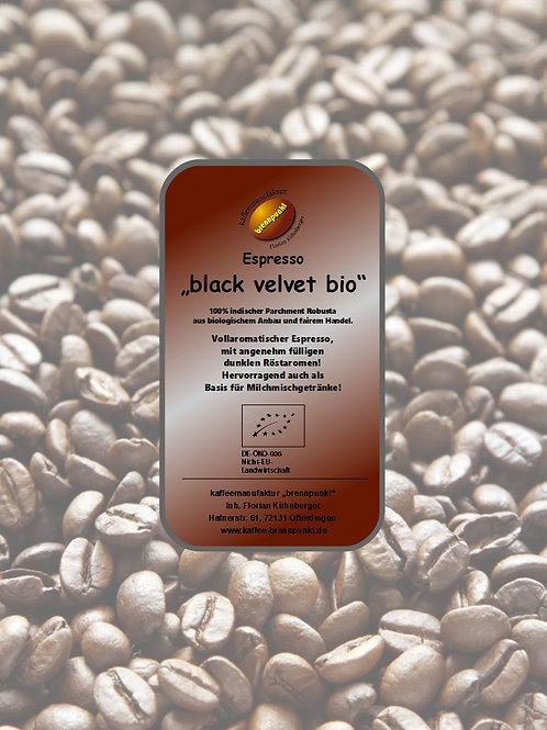 """Espresso """"black velvet"""" bio/fair"""