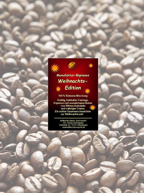 """Manufaktur-Espressomischung """"Weihnachts-Edition"""""""