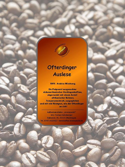 """Kaffeemischung """"Ofterdinger Auslese"""""""