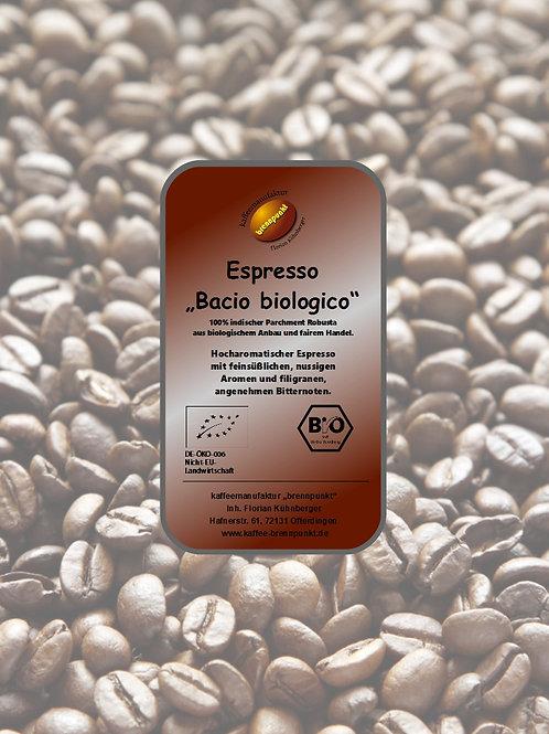 Espresso Bacio biologico Bio/fair