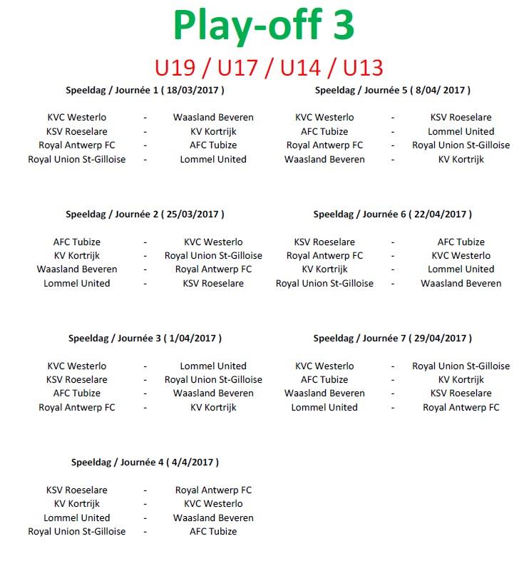 Playoff 3 - Aca2-3-U14-U13