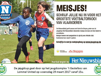 """Jeugdcup """"Het Nieuwsblad"""" voor meisjes"""