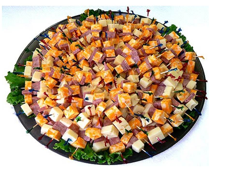 cheese+smoked meat tray