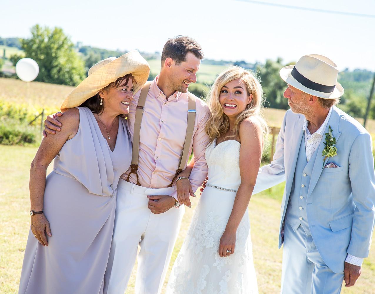 Bonne fete Wedding Dordogne