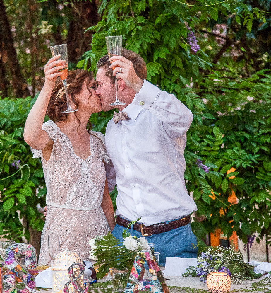 cheers to this couple married in france