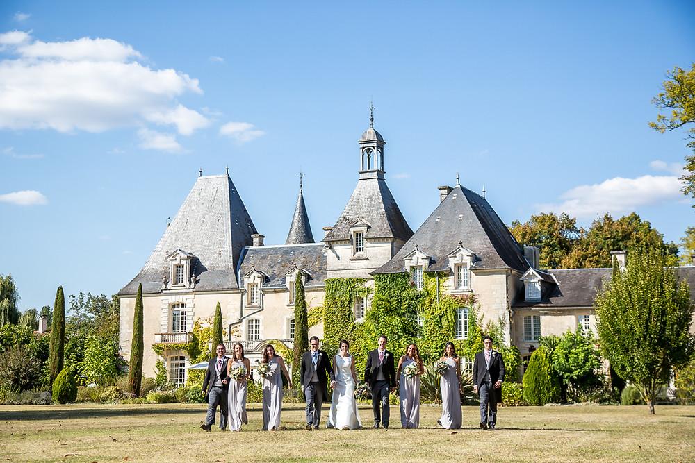 Mas de Montet wedding in south west france