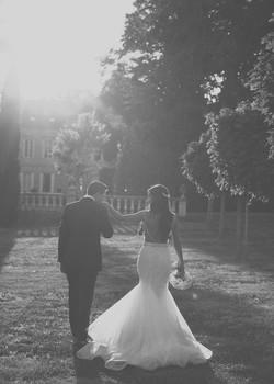 couple at Chateau La Durantie