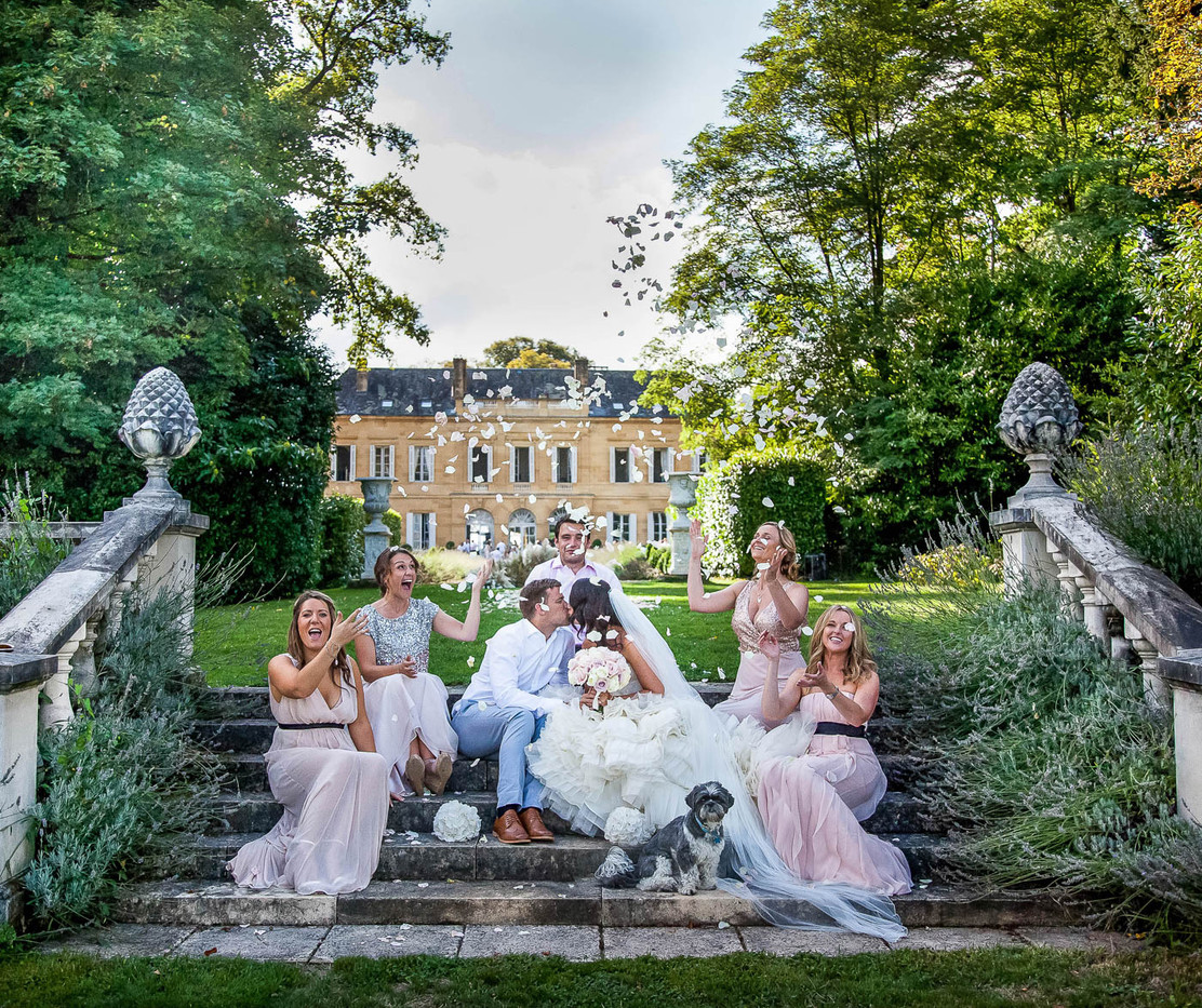 wedding chateau la durantie