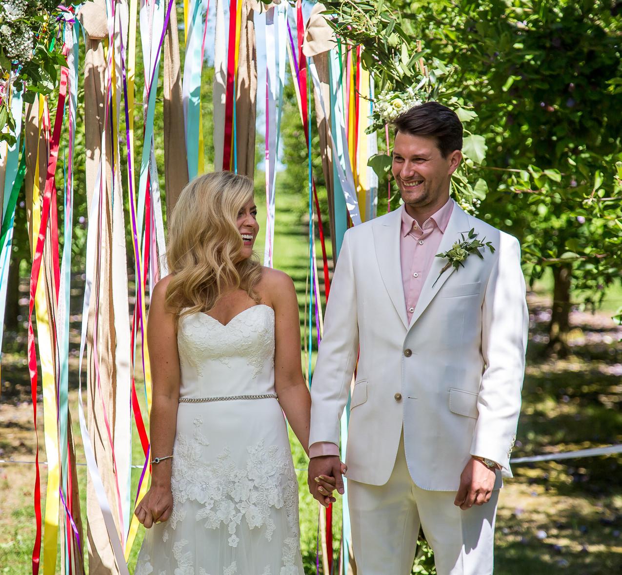 Bonne fete wedding ceremony