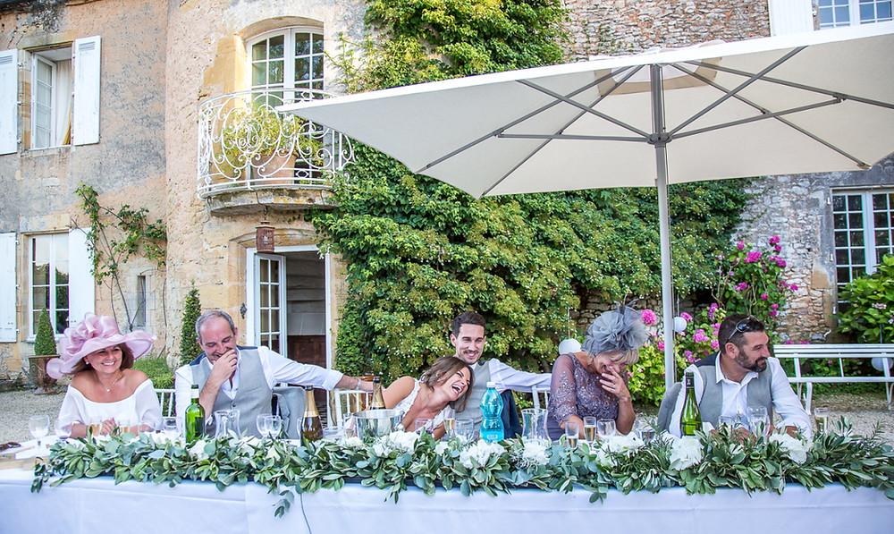 wedding at chateau cazenac