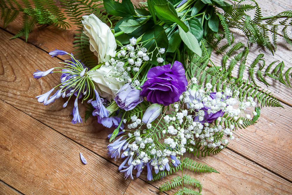 wedding flowers  photographed in dordogne France