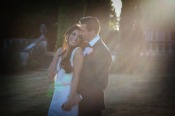 wedding photo by photographer in dordogne france