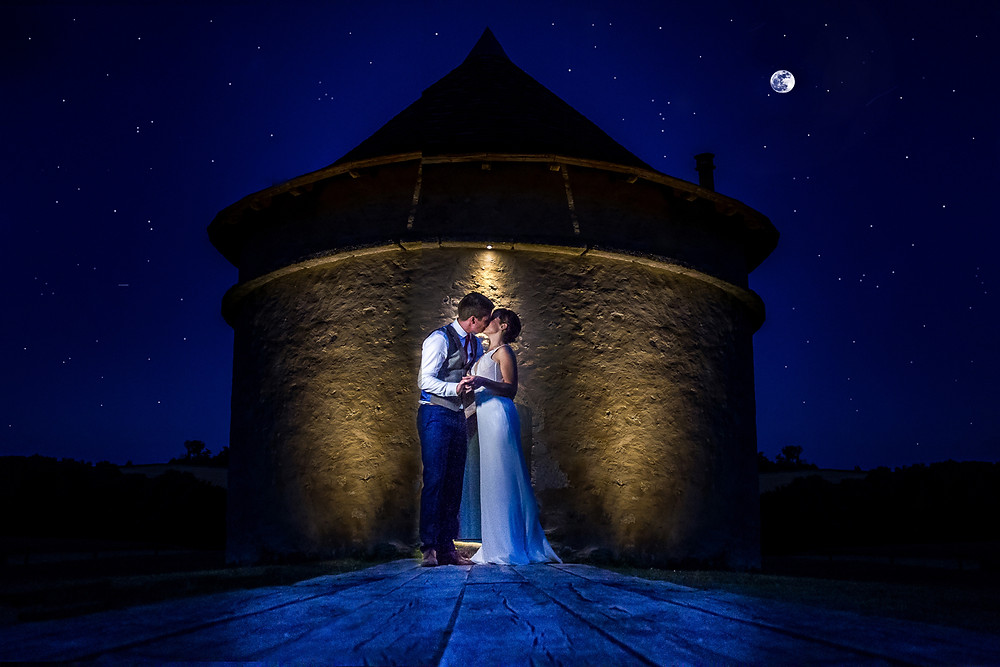 Katy and Shane's Outdoor Chateau de Lerse Wedding