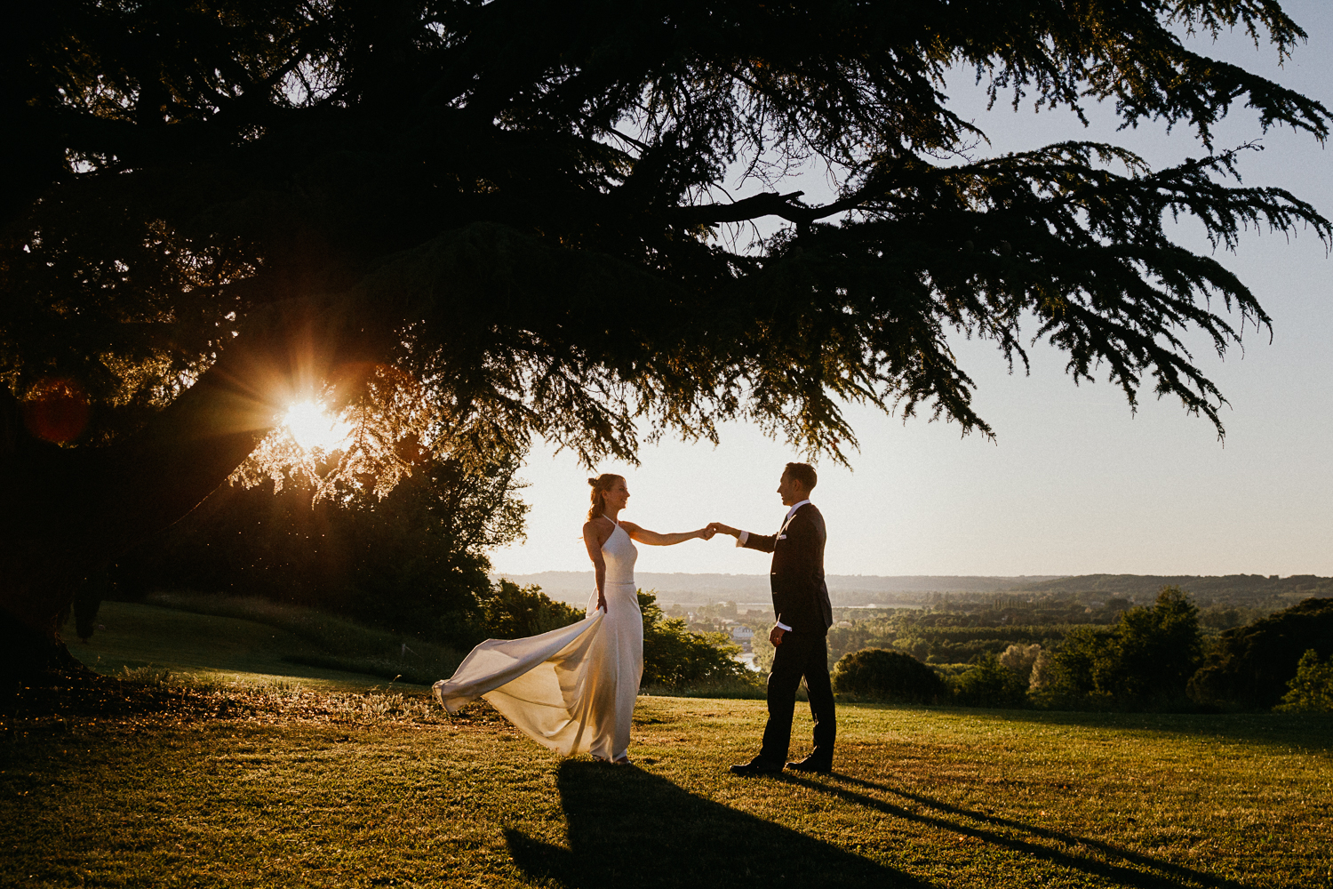 photograph by wedding photographer dordogne