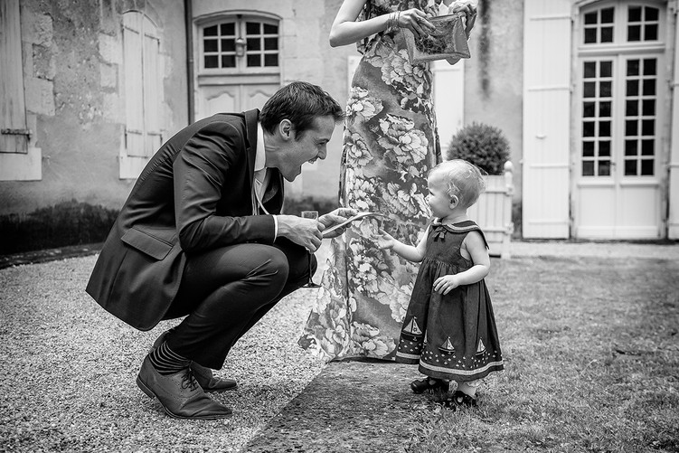 wedding photograph by wedding photographer south west france