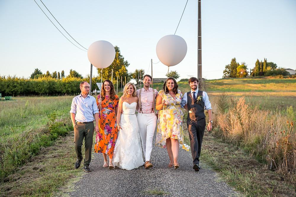 Petal marquee bonne fete wedding France