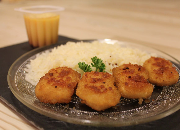 Menu Enfant : Nuggets/Riz + dessert