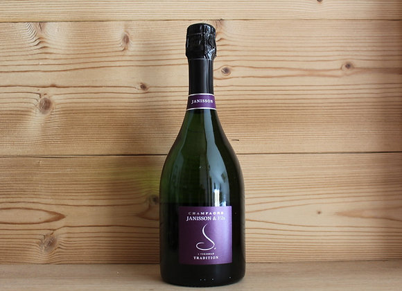 1 Bouteille Champagne Tradition Brut Janisson