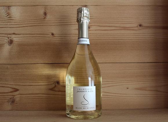 1 bouteille Champagne Blanc de Blanc Janisson