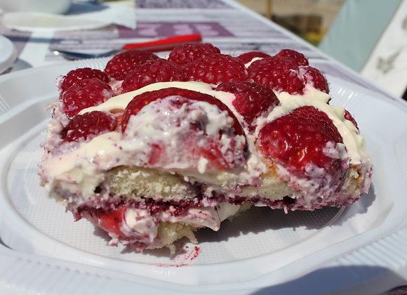 Tiramissu aux fruits rouges