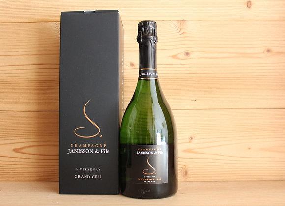 1 Bouteille Champagne Grand cru Millésime 2006 Janisson