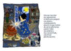 Dibujo - La Hechicera haciendo una pócima en un caldero