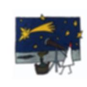 Página del libro Diario de un explorador de Arcadi Urpí - El Explorador mesurando la fraganiade un cometa