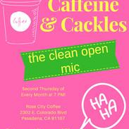 Caffeine Cackles No Date Monthly Postcar