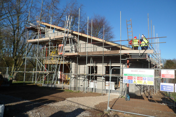 1 Rectory Croft - Nearing Completion