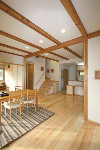 現代版「民家風自然素材の家」