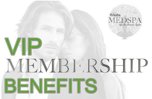 VIP membership Whitby Medspa