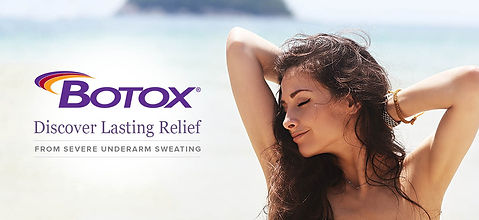 Botox for hyperhidrosis, therapeutic botox, excessive sweating
