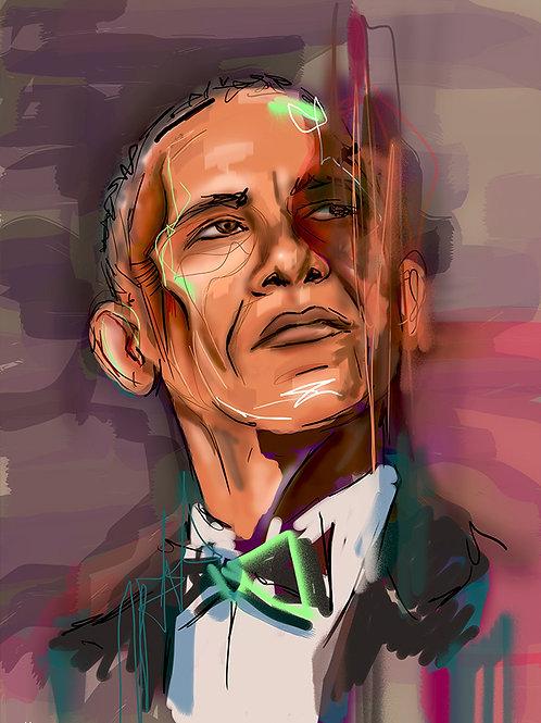 Obama - Limited Edition Print