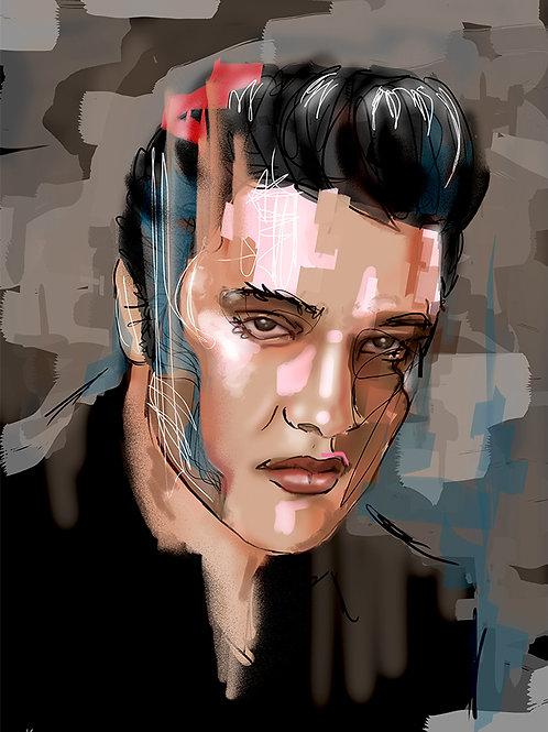 Elvis - Limited Edition Print