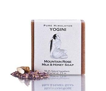 Yogini Mountain Rose Milk And Honey Soap