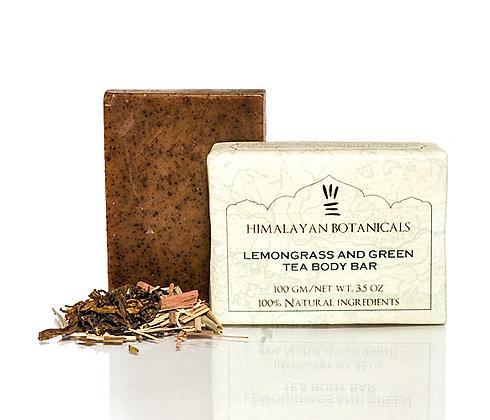 Lemongrass and Green Tea Body Bar