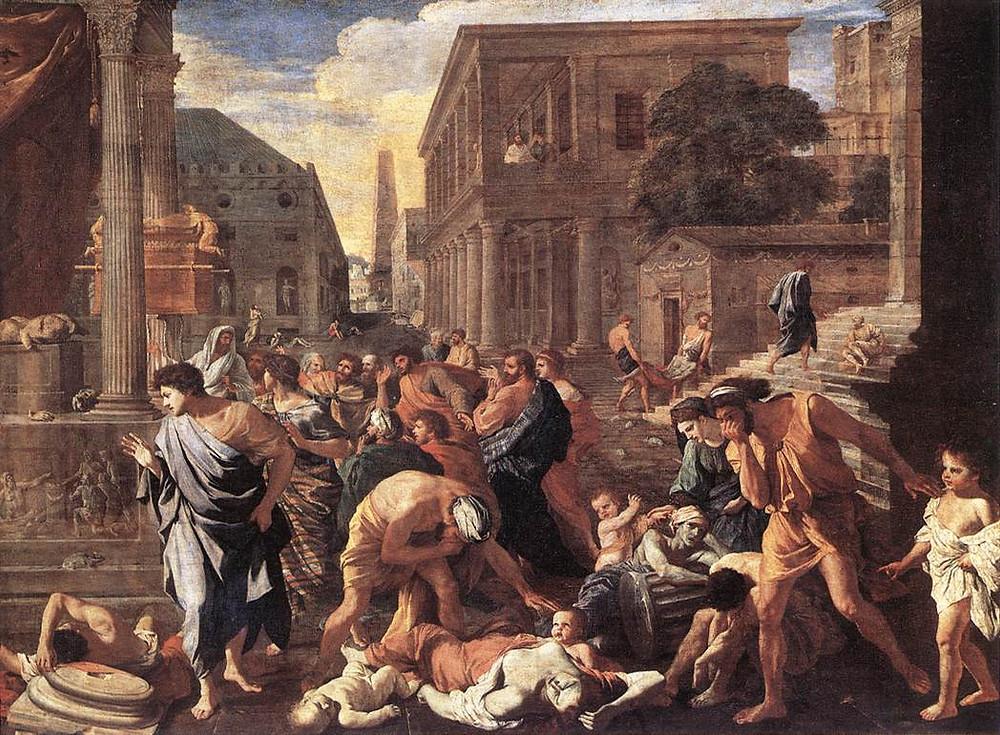 The Plague at Ashdod 1630 Oil on canvas, 148 x 198 cm Musée du Louvre, Paris