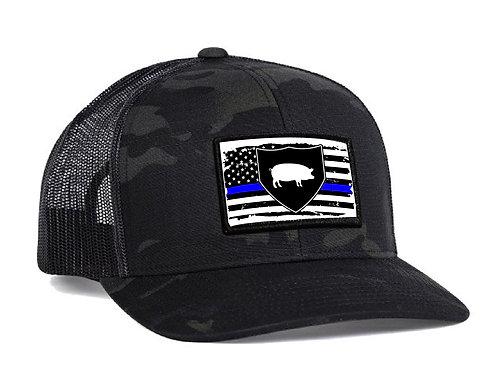Blue Line Hogs Hat: Pre-Order