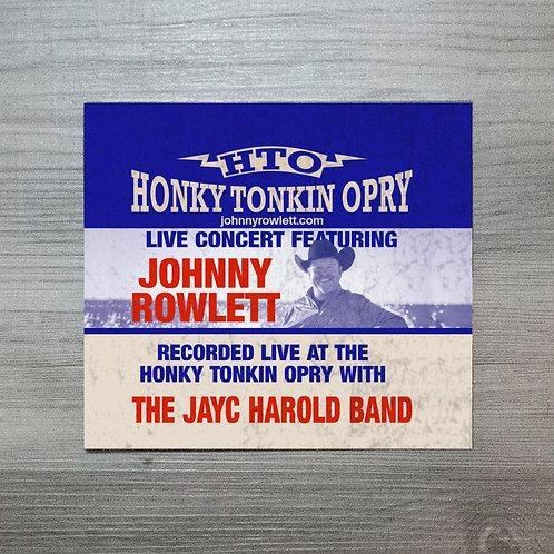 Honky Tonkin Opry LIVE - CD