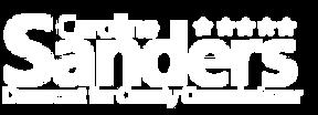 CSanders Logo_White.png