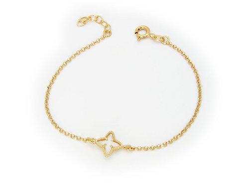 Lilly White Flower Bracelet