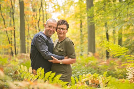 Portret koppel - herfstshoot Buggenhout