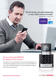 Georges Leekens voor Emporia Essence