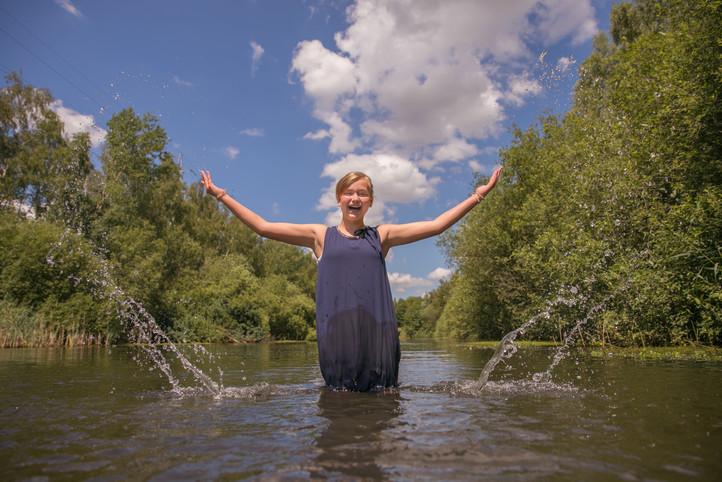 Portret tiener - natuur Dendermonde
