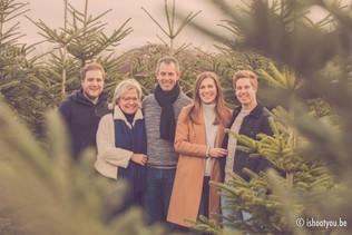 Familiefoto - kerstshoot