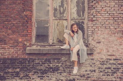 Portret tiener - Urban shoot Dendermonde