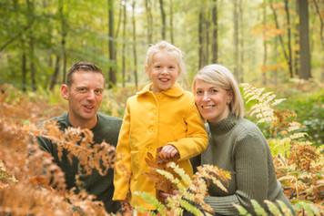 Gezinsportret in Buggenhout bos