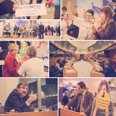Healthy Lungs Day @ Europees Parlement
