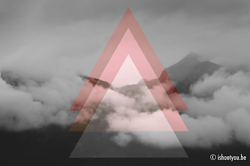 Geometric Mountain - wall art
