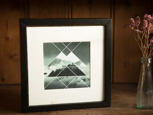 Fotobox zwart 20x20cm